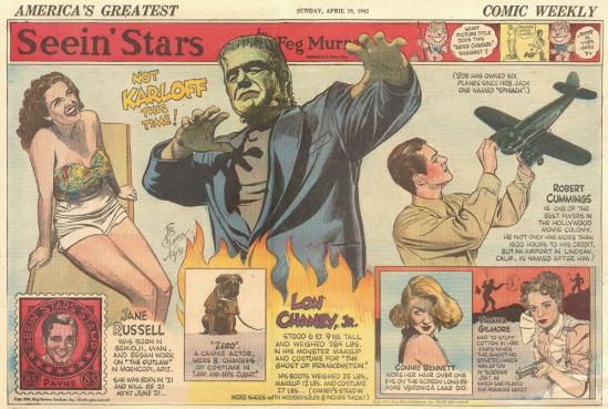 The Ghost of Frankenstein Fug, April 19, 1942