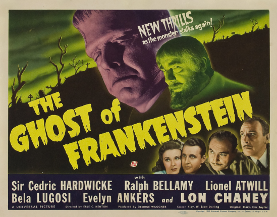 The Ghost of Frankenstein Half Sheet