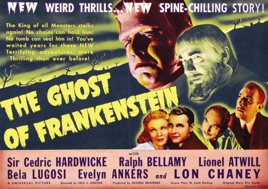 The Ghost of Frankenstein Herald 1