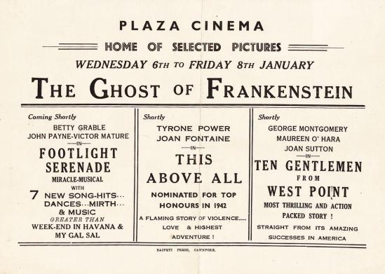 The Ghost of Frankenstein Herald 2