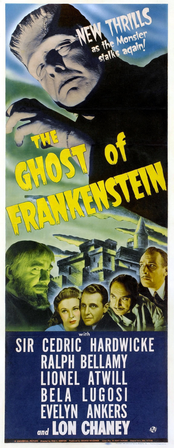 The Ghost of Frankenstein Insert