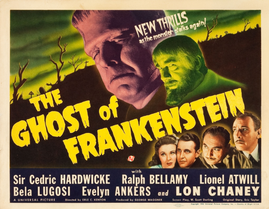 The Ghost of Frankenstein Lobby Card 1