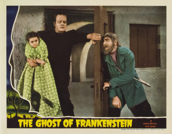 The Ghost of Frankenstein Lobby Card 2