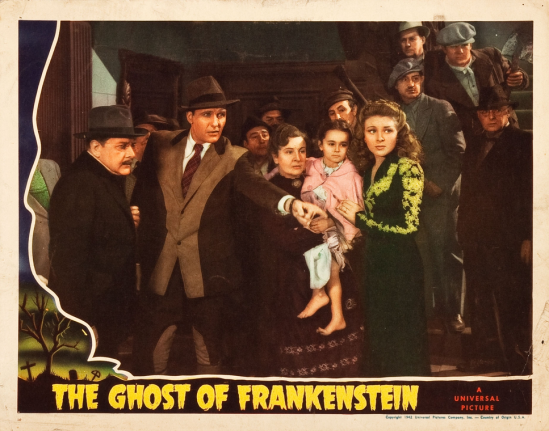 The Ghost of Frankenstein Lobby Card 8