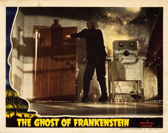The Ghost of Frankenstein Lobby Card 9