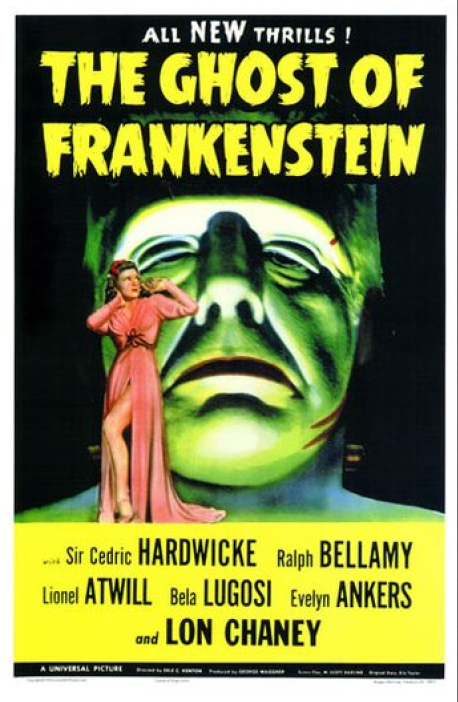 The Ghost of Frankenstein One Sheet