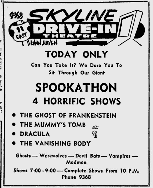 The Ghost of Frankenstein, The Tuscaloosa News, May 13, 1955