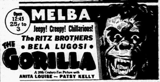 The Gorilla, Dallas Morning News, June 25, 1939