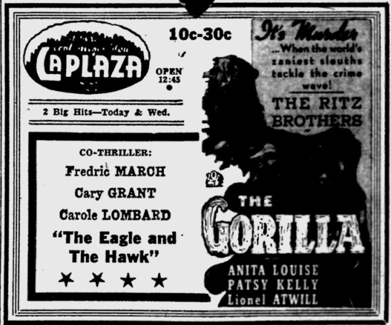 The Gorilla, The Evening Independent, July 4, 1939