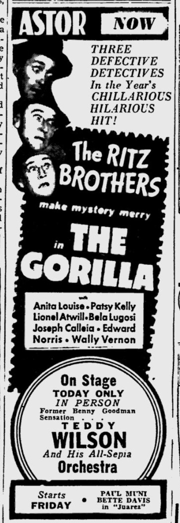 The Gorilla, The Reading Eagle, May 20, 1939 2