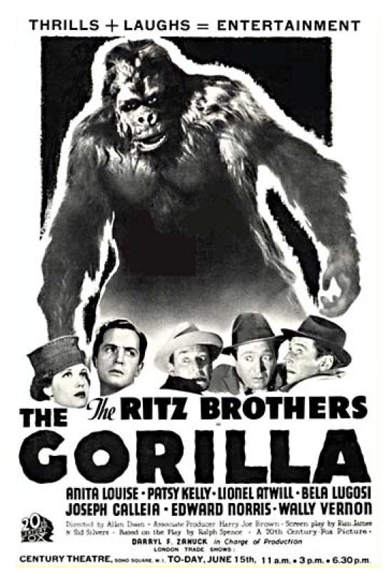 The Gorilla UK Trade Show Ad
