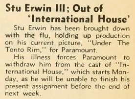 The Hollywood Reporter, February 16, 1933