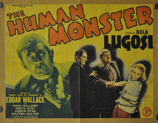 The Human Monster Half Sheet