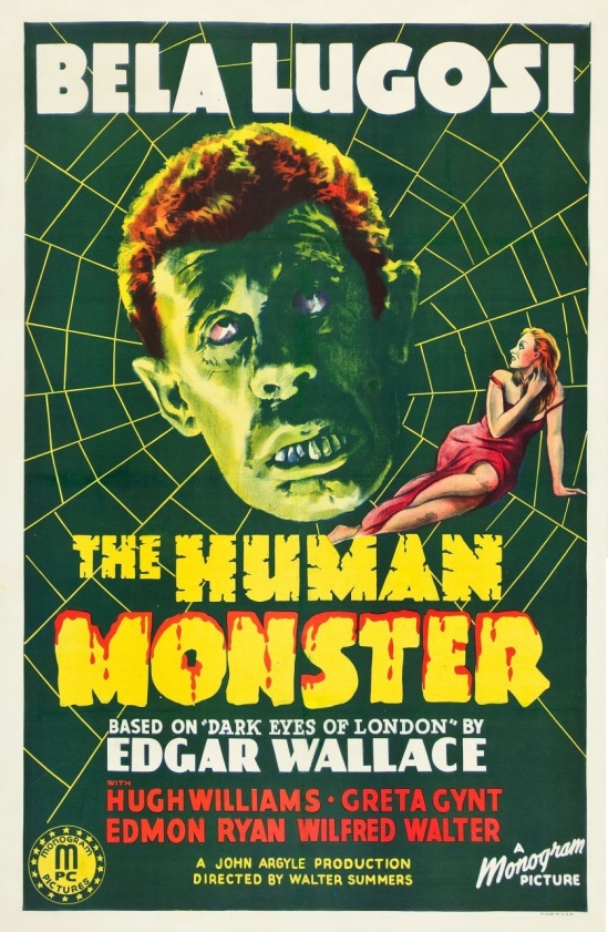 The HUman Monster One Sheet