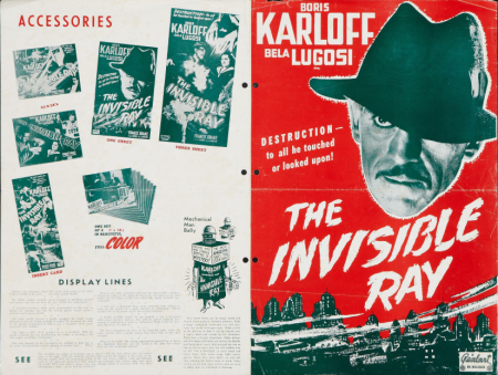 The Invisible Ray 1948 Re-Release Pressbook 3