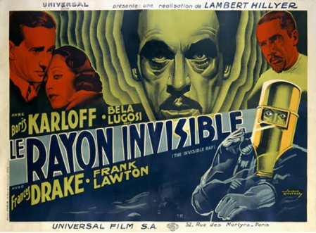 Posters of France ray invisible