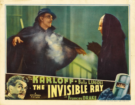The Invisible Ray Lobby Card 4