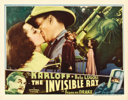 The Invisible Ray Lobby Card 5