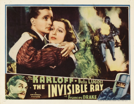 The Invisible Ray Lobby Card 6