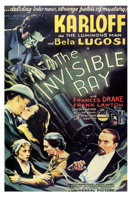 The Invisible Ray One Sheet