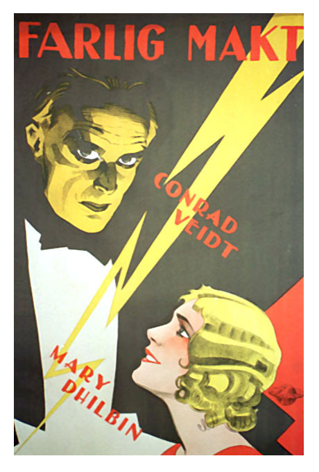 The Last Performance Swedish Poster