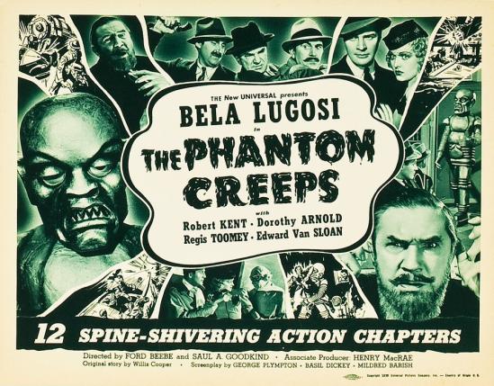 The Phantom Creeps Chapter 12