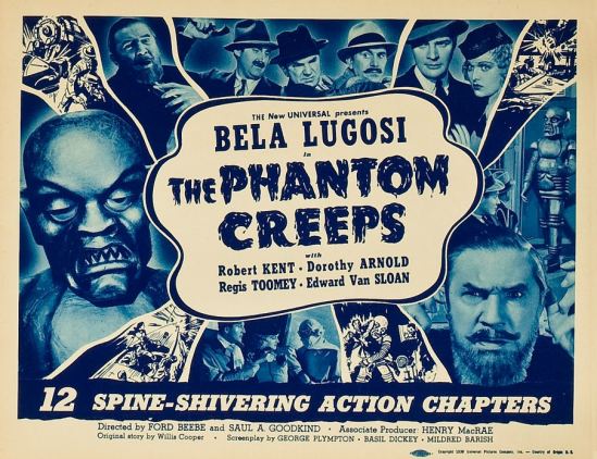 The Phantom Creeps Chapter 7