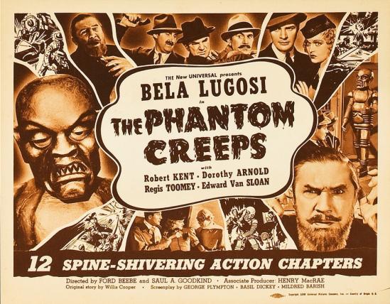 The Phantom Creeps Chapter 9