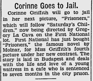 Prisoners, The Pitsburgh Press, December 9, 1928