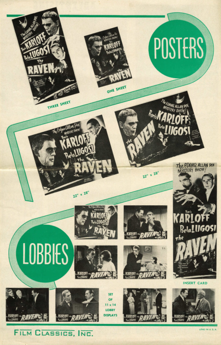 The Raven 1948 Re-Release Pressbook 2