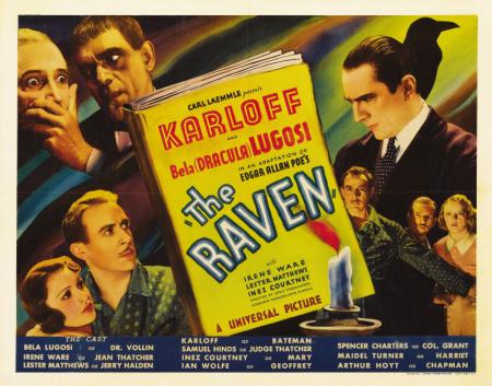 The Raven Half Sheet