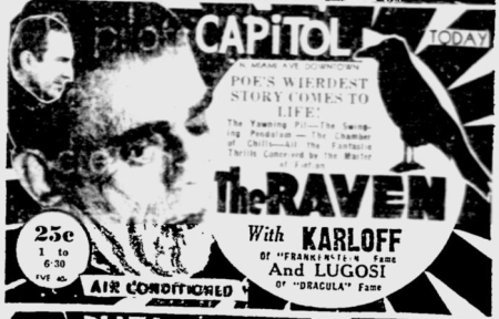 The Raven, The Miami News, August 25, 1935 b