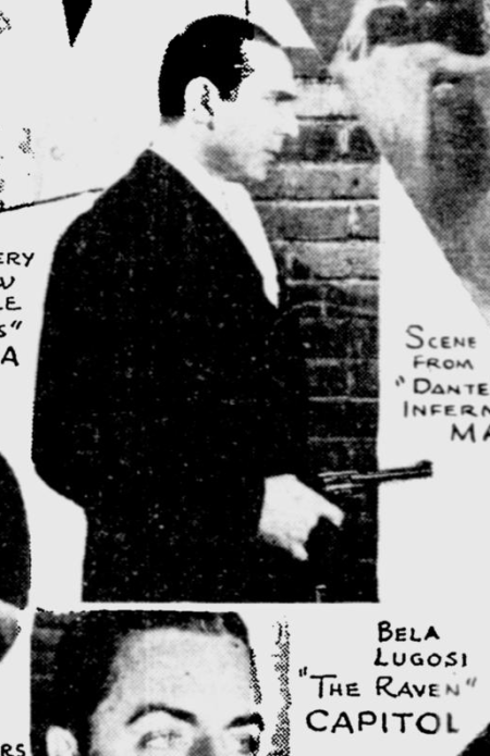 The Raven, The Miami News, August 25, 1935
