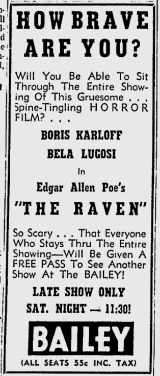 The Raven, Wilmington News, November 19, 1952