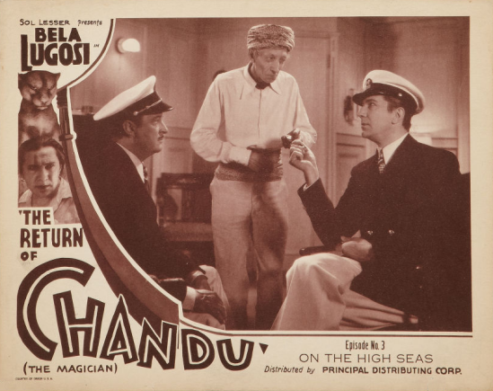 The Return of Chandu Episode 3 Lobby Card 2