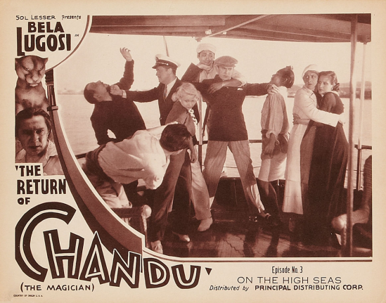 The Return of Chandu Episode 3 Lobby Card 3