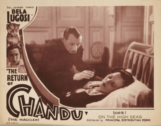 The Return of Chandu Episode 3 Lobby Card