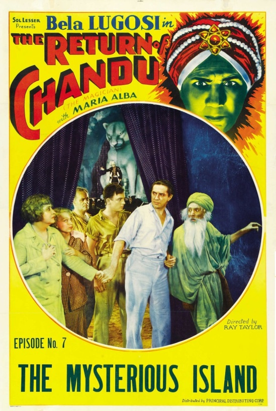 The Return of Chandu Episode 7 One Sheet