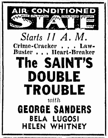 THe Saints Double Trouble, Richmond Times Dispatch, May 11, 1940