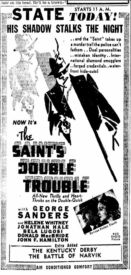 THe Saints Double Trouble, Richmond Times Dispatch, May 9, 1940