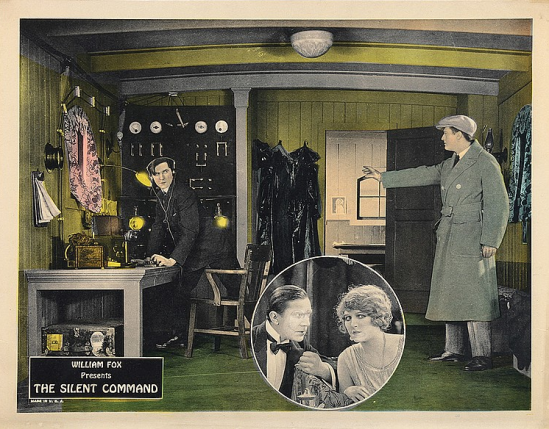 The Silent Command Lobby Card