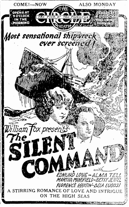 The Silent Command, Origonian, April 13, 1924 2