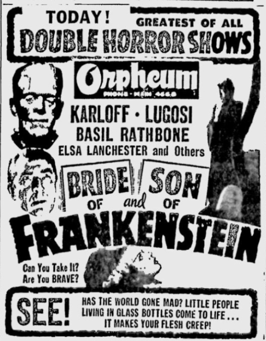 Son of Frankenstein The Spokesman-Review, December 19, 1951