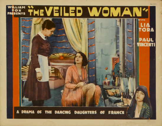 Woman lobby card 1-capped veil