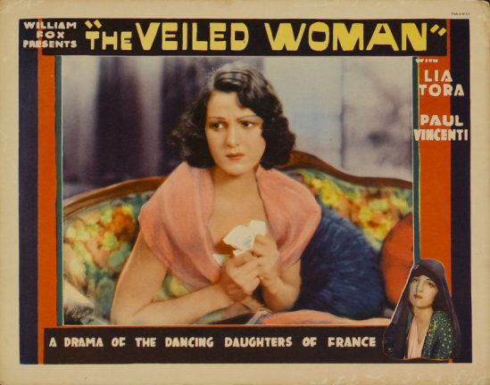 Woman lobby card 3-capped veil