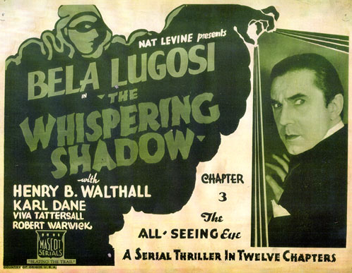 The Whispering Shadow Chapter Three Lobby Card
