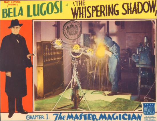 The Whispering Shaqow Lobby Card 2