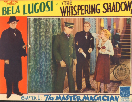 The Whispering Shaqow Lobby Card 3