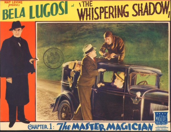 The Whispering Shaqow Lobby Card 4