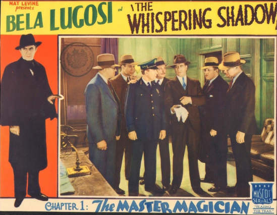 The Whispering Shaqow Lobby Card 5